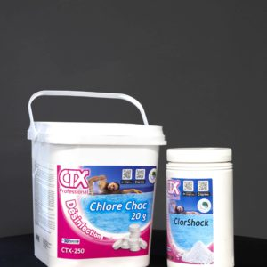 chlore choc piscine disponible en vente à ascain